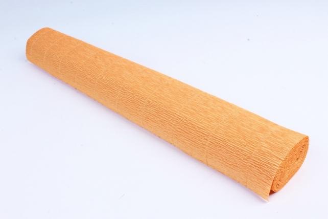 Бумага гофрированная простая 610 охра
