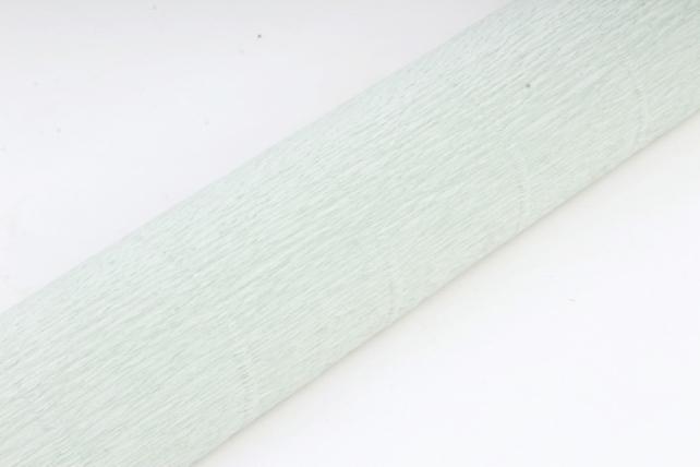 Бумага гофрированная простая 621 светло зелено-серый