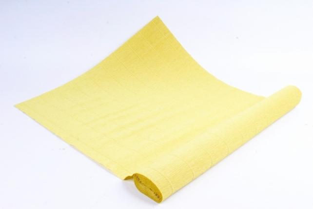 Бумага гофрированная простая 579 светло-оливковая