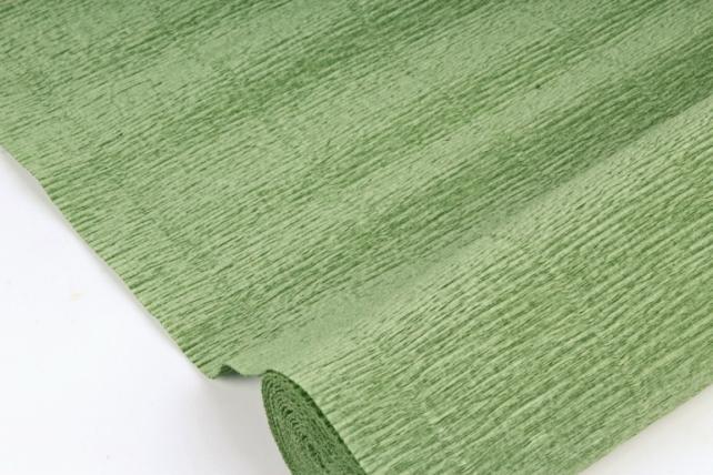 Бумага гофрированная простая 565 светло-зеленый
