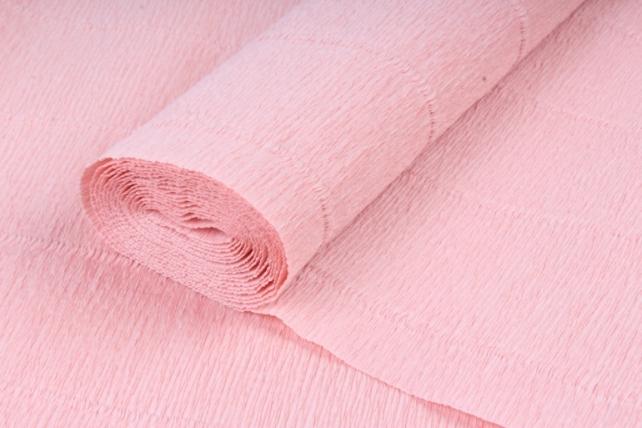 Бумага гофрированная простая 17А2/1712 нежно розовый