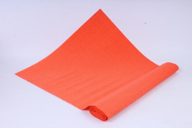 бумага гофрированная простая 17е6/1706 ярко оранжевый