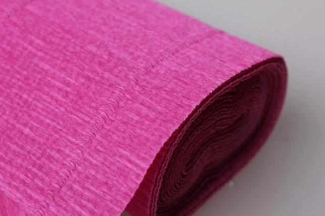 бумага гофрированная простая 550 розовый