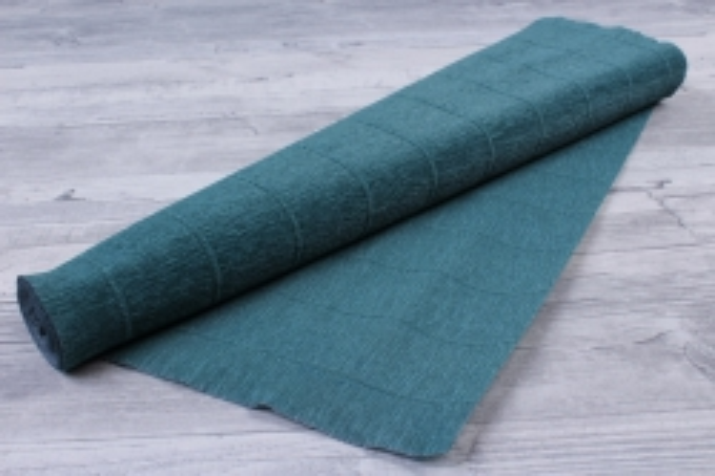 Бумага гофрированная простая 560 темно-зеленая