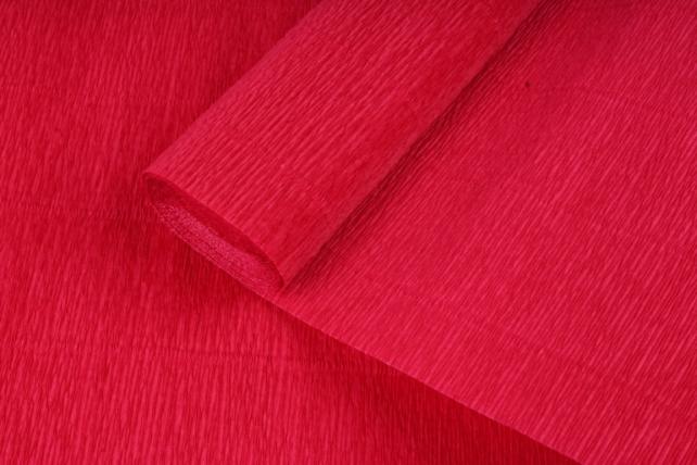 бумага гофрированная простая 589 темно красный