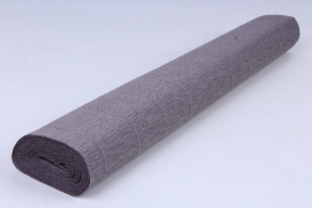 бумага гофрированная простая 605 серый