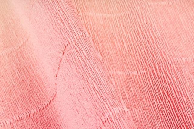 Бумага гофрированная простая 17А7/1717 переход светло персиковая