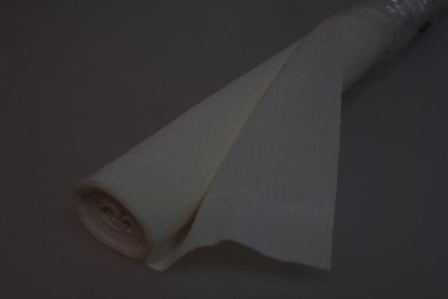бумага гофрированная простая - слоновая кость 603
