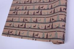 бумага  крафт 203/119 северный лес  0,7*1м в лист. (10 лист.)