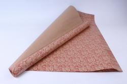 бумага  крафт 203/469  любовный завиток   0,7*1м в лист. (10 лист.)