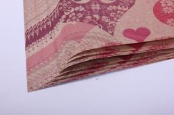 бумага крафт ажурные сердца 0,7*1м  (10 листов)  м