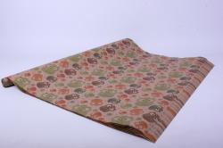 Бумага КРАФТ Ажурные Совы  0,7*1м  (10 листов)  М