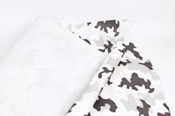 """Бумага крафт беленый """"Камуфляж Арктик"""" 72см*10м. 50 г/м2 44447ПУ"""