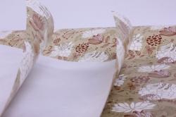 бумага  крафт белый весенний с птицами  0,7*1м в лист. (10 лист.) unvsp-k
