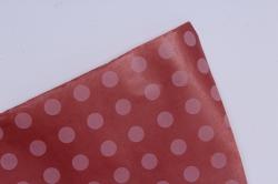 бумага  крафт цветочная круги на светло-розовом 70см*10м  40г/м2    32915пу   м