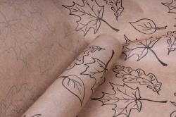 бумага  крафт цветочная листопад 72см*10м  40г/м2    33781пу   м