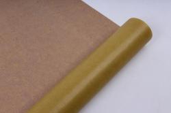 бумага  крафт цветочная оливковая 70см*10м  40г/м2    33602пу   м