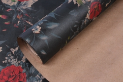 бумага  крафт цветы 4   0,7*1м в лист. (10 лист.) 78г/м2 unfl4-k  м