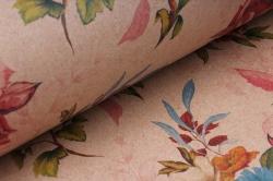 бумага  крафт цветы 5   0,7*1м в лист. (10 лист.) 78г/м2 unfcv5-k    м