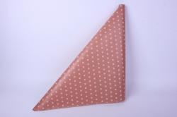 бумага крафт горох на розовом 60*10 м 40 г/м