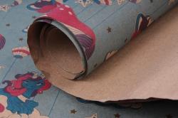 Бумага КРАФТ Киты  0,7*1м (10 лист.) 78г/м2  М