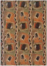 Бумага КРАФТ Коллекция марок 0,7х1м в листе (10 лист.)