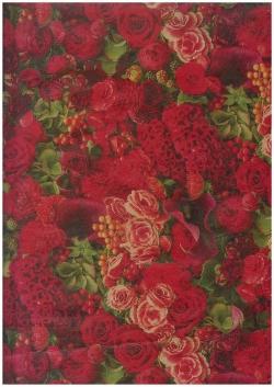 БумагаКРАФТКрасныецветы0,7*1мвлист.(10лист.)UNKC-K