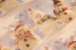 """Бумага крафт НГ """"Танцующие Снеговики"""" 70см*10м. 40 г/м2 GP-SN1-40"""