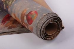 бумага  крафт нов. год мишки   0,7*1м в лист. (10 лист.)