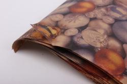 бумага  крафт  нов. год. много шаров 0,7*1м (10 лист.) м