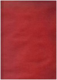 Бумага  КРАФТ - Однотонная - Красный кардинал 0,7*1м (10 листов) - Код 203/021