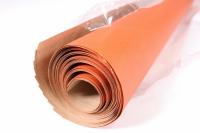 бумага  крафт однотонная оранжевая 0,7*1м в лист. (10 лист.)  gp165-k