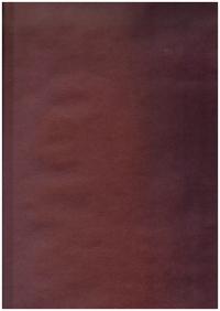 Бумага  КРАФТ - Однотонная - Шато бордо 0,7*1м (10 листов) - Код 203/025
