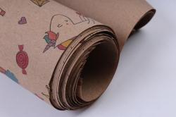 бумага  крафт  пони   (70см*10м) к