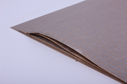 бумага  крафт серебрянные линии  0,7*1м в лист. (10 лист.)  78г/м2  м