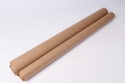 бумага  крафт золотистые линии  0,7*1м в лист. (10 лист.)  78г/м2  м