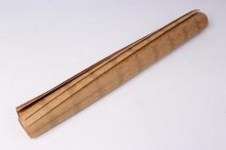 бумага  крафт золотые сердца  0,7*1м в лист. (10 лист.)  78г/м2  м