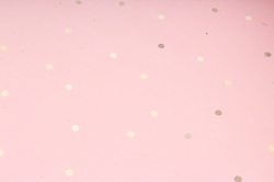 """Бумага 1м*70см Дизайнерская бумага """"Горох Золотой""""  78г/м2  10шт/уп  (М) UNGZL"""