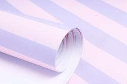 Бумага 1м*70см Дизайнерская бумага Полоски Розово-Лиловые  78г/м2  10шт/уп  (М)  PinPRL