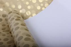 """бумага на золотой основе """"конфетти"""" (желтый) 53см*10мgol-1070"""