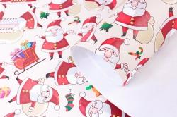 Бумага НГ 1*70 Дизайнерская бумага Дед Мороз 78г/м2 PinP-SC