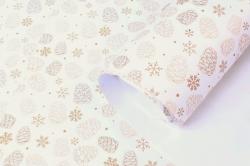Бумага НГ 1*70 Дизайнерская бумага Шишки 78г/м2 PinP-SH