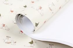 Бумага НГ 1*70 Дизайнерская бумага Символ Года 78г/м2  Pin-SY