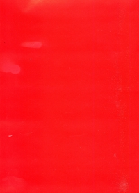 Бумага подарочная ГЛЯНЕЦ Однотонная Красная 0,7х1м в листе (10 листов)