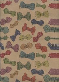 Бумага подарочная КРАФТ Пижон 0,7х1м в листе (10 листов)