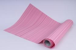 бумага  рифлен. в рул. полоски розовые  50см*10м 131210-50/10,,600734
