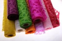бумага рисовая бумага рисовая с дырками (60см на 10м) - розовый 2149