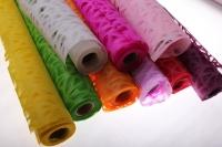 бумага рисовая бумага рисовая с дырками (60см на 10м) - салатовый 2149