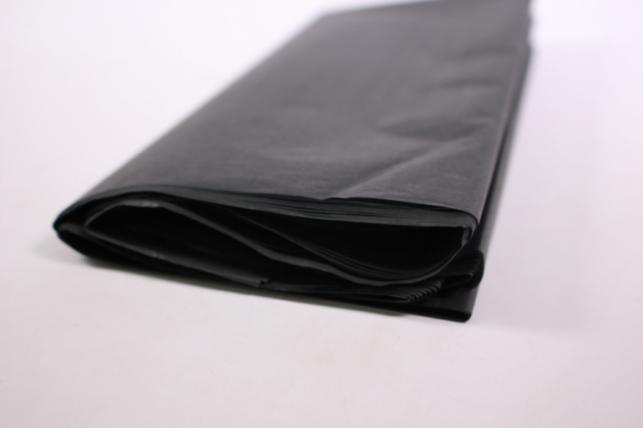 Бумага тишью 10 шт 50х66 см, черный