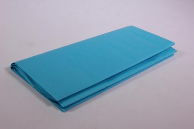 Бумага тишью 10 шт 50х66 см, цвет морской волны